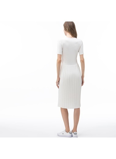 Lacoste Elbise Beyaz